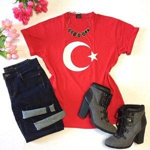 Turkish Flag Made in Turkey Shirt